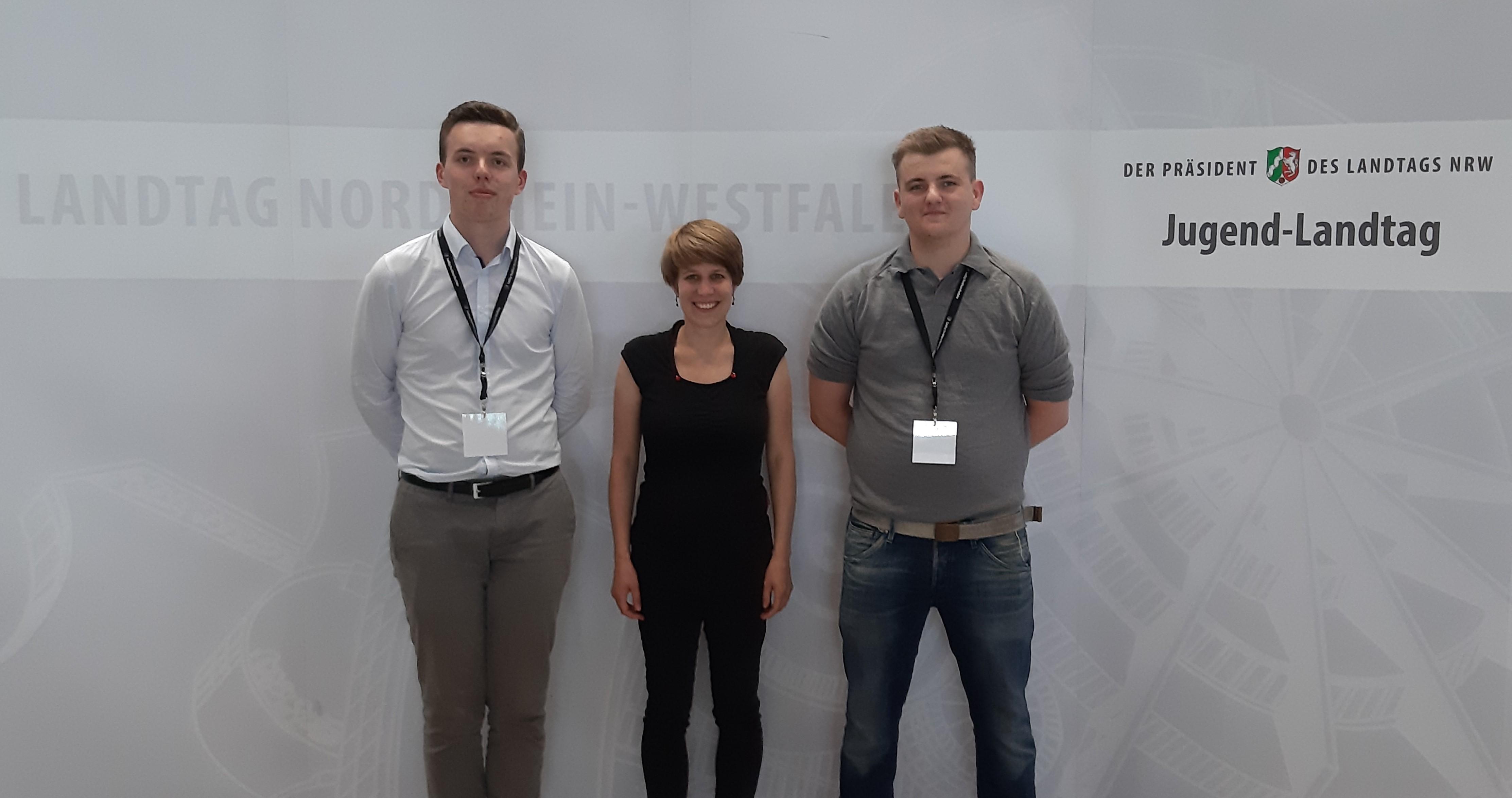 Ennepe-Ruhr-Kreis stark bei Jugend-Landtag vertreten