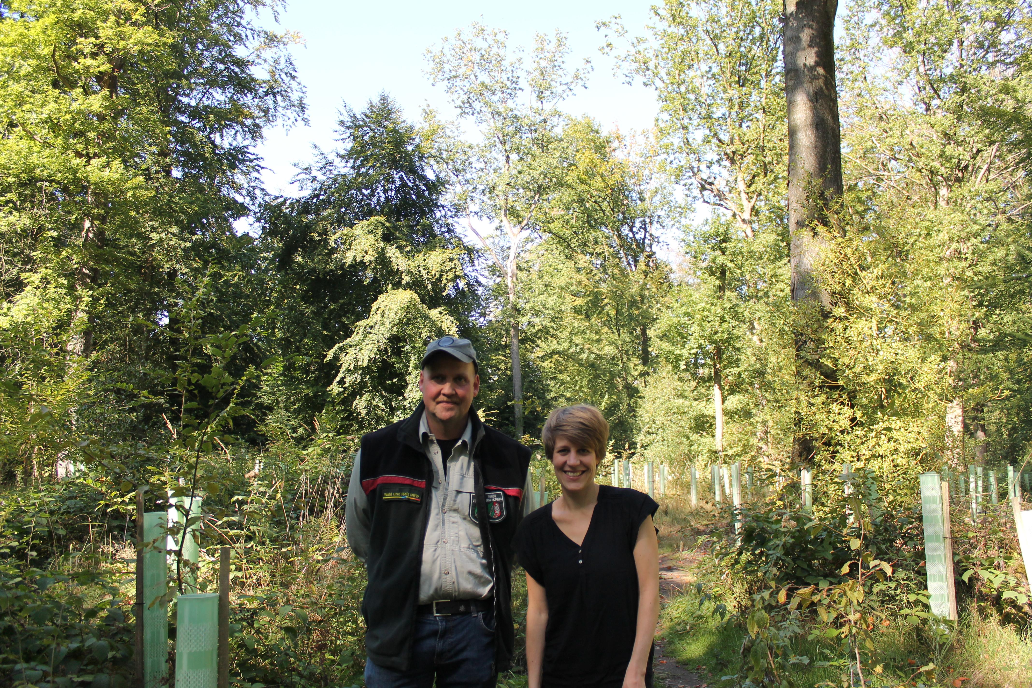 Besuch des Schulenberger Wald in Hattingen