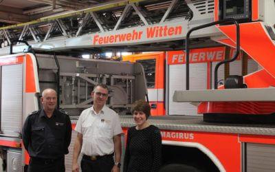 Besuch der neuen Rettungsdienstschule der Wittener Feuerwehr